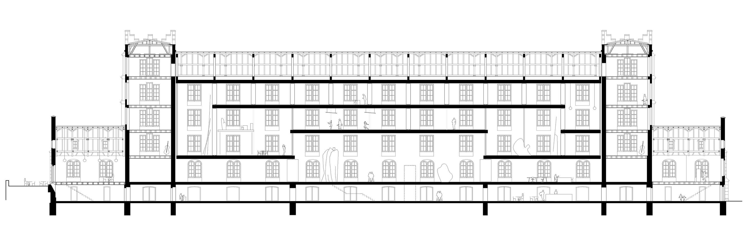 Kaserne Basel Umbau und Sanierung